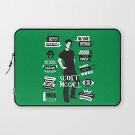 Scott Mccall Teen Wolf Quotes Laptop Sleeve
