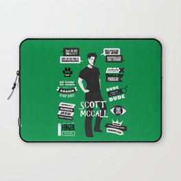 Scott Mccall Teen Wolf Quotes Laptop Sleeve