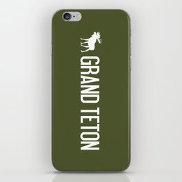 Grand Teton Moose iPhone Skin