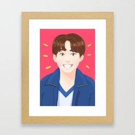 BTS Jungkook DNA Framed Art Print