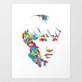 Oh The Places That Make You : Miss Art Print