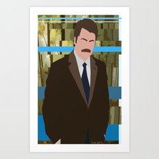 The Swanson Art Print