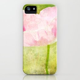 Gratitude Poppy iPhone Case
