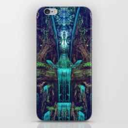 Waters Fall - Fractal - Visionary - Manafold Art iPhone Skin