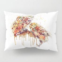 Three Cute Owls Pillow Sham