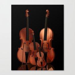 String Instruments Canvas Print