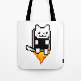 JetPack Kitty Attack Tote Bag