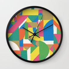 Letter i Wall Clock
