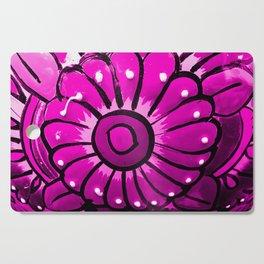 Talavera Hot Pink Cutting Board