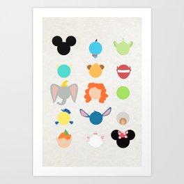 Memorables Art Print