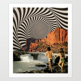 Eden (3/3) Art Print