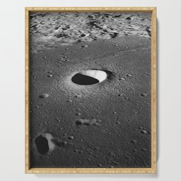 Apollo 10 - Moltke Moon Crater Serving Tray