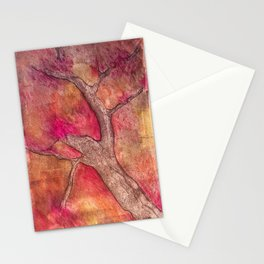 Tree of color Stationery Cards