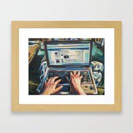 Complacency, Computer Framed Art Print
