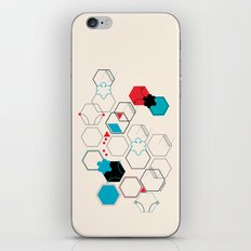 Bumble bees iPhone & iPod Skin