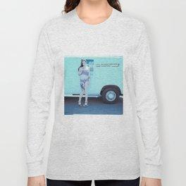 Ice Cream Popcicle Chola Long Sleeve T-shirt