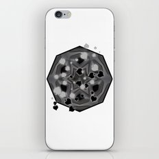 Ace of spades and star mandala iPhone & iPod Skin