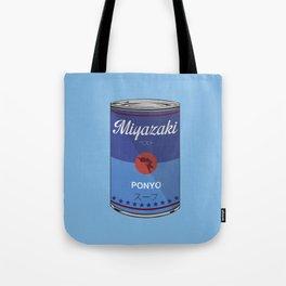 Ponyo - Miyazaki - Special Soup Series  Tote Bag