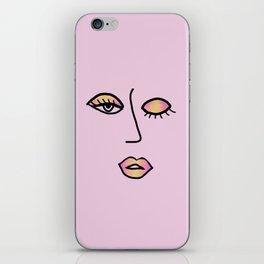 Rainbow Pink Vampy Vixen iPhone Skin