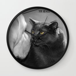 You really wanna do this? Wall Clock