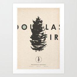 Tree Series - Douglas Fir Art Print