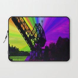 Ballard Locks Bridge Laptop Sleeve