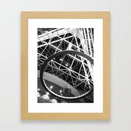 Foucault Pendulum Framed Art Print