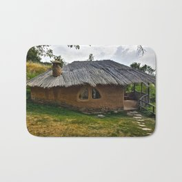 Clay House in Leshten, Bulgaria Bath Mat