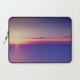 Sunset on the Atlantic Ocean Laptop Sleeve