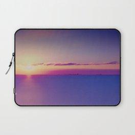 Sunset on the Atlantic Ocean Laptop Sleeve