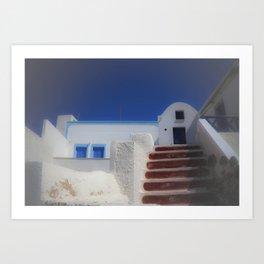 Santorini, Greece 7 Art Print