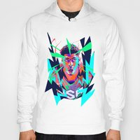 nba Hoodies featuring Anthony Davis Nba illu V3 by mergedvisible