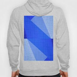Lapis Lazuli Shapes - Cobalt Blue Abstract Hoody