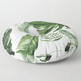 Tropical Leaf Floor Pillow