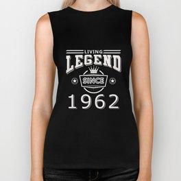 Living Legend Since 1962 T-Shirt Biker Tank