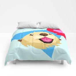 Otters Love Comforters