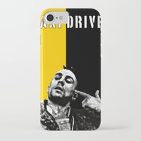 taxi driver iPhone & iPod Cases featuring Travis Bickle Taxi Driver by Maxim Garg