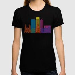 Medellin skyline pop T-shirt