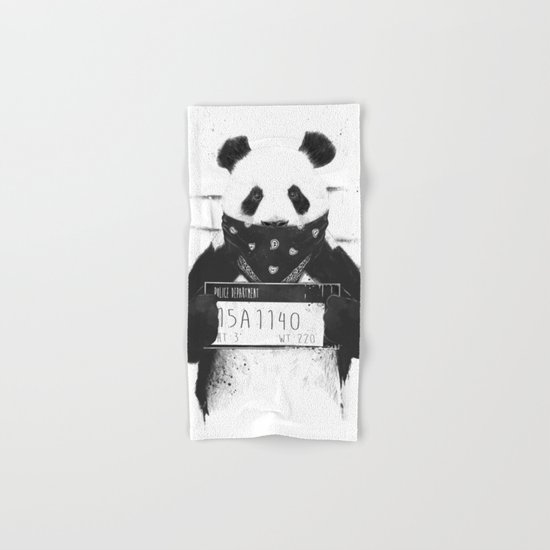 Bad panda Hand & Bath Towel