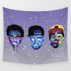 Trifecta Wall Tapestry