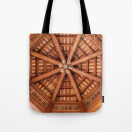 Wooden Sruckture Tote Bag