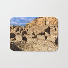 Pueblo Bonito in Chaco Canyon Bath Mat
