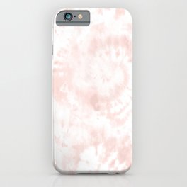 Blush Tie-Dye iPhone Case