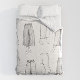 What's in my sketchbook_Culottes Comforters