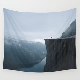 Norway Photography - The Pulpit Rock Wall Tapestry