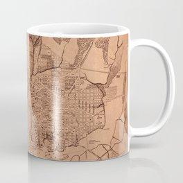 Map Of Washington 1802 Coffee Mug