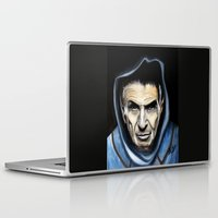 spock Laptop & iPad Skins featuring Spock by James Kruse