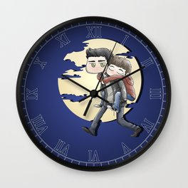 Wolfyback Wall Clock