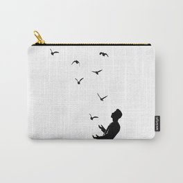 Set Free #society6 #decor #buyart Carry-All Pouch