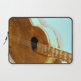 The Golden Guitar Laptop Sleeve